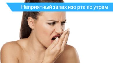 как устранить запах перегара изо рта утром